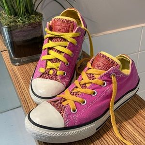 CONVERSE Girl's sneakers pink Size 2